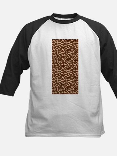 Animal Print GIRAFFE Baseball Jersey