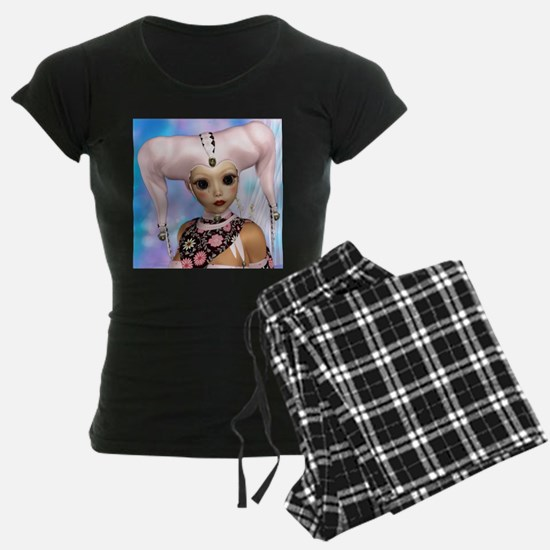 Sad Harlequin Doll Pajamas