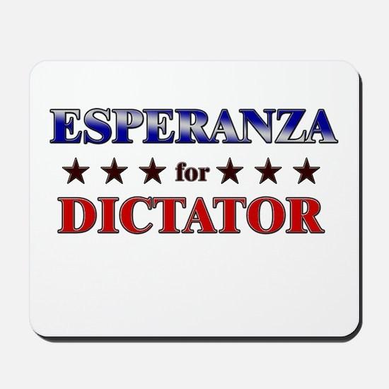 ESPERANZA for dictator Mousepad