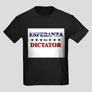 ESPERANZA for dictator Kids Dark T-Shirt