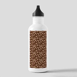Animal Print GIRAFFE Stainless Water Bottle 1.0L