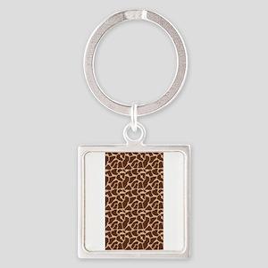 Animal Print GIRAFFE Keychains