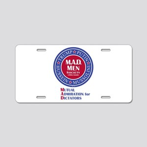 MAD Men Society Aluminum License Plate