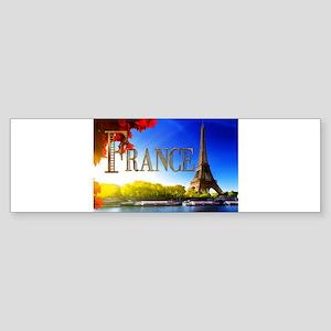 France on the Seine Bumper Sticker