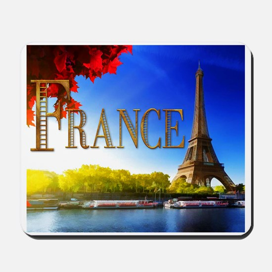 France on the Seine Mousepad