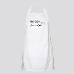 What Would Jesus Brew? BBQ Apron