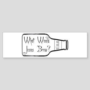 What Would Jesus Brew? Bumper Sticker
