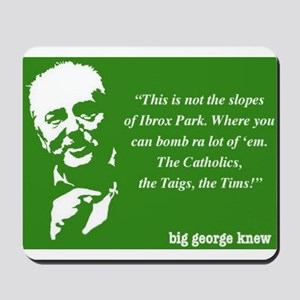 George Galloway Mousepad - £7.50