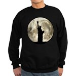 Full Moon Liberty Silhouette Sweatshirt