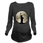 Full Moon Liberty Silhouette Long Sleeve Maternity