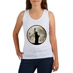 Full Moon Liberty Silhouette Tank Top