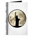 Full Moon Liberty Silhouette Journal