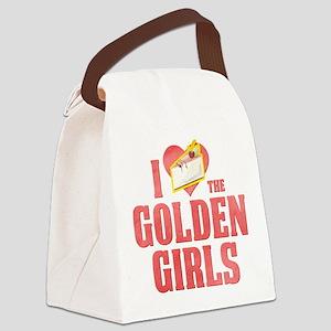 I Heart Golden Girls Canvas Lunch Bag
