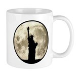 Full Moon Liberty Silhouette Mugs