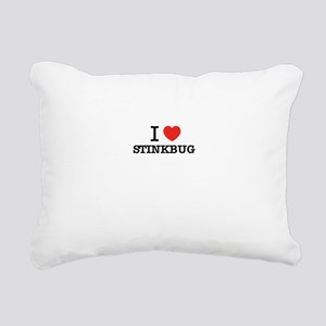 I Love STINKBUG Rectangular Canvas Pillow