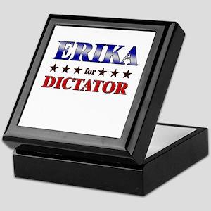 ERIKA for dictator Keepsake Box