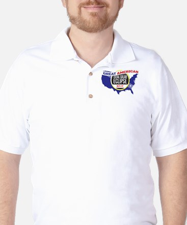 Total Solar Eclipse Golf Shirt