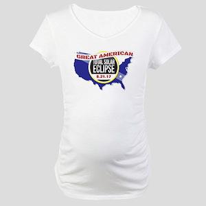 2017 Solar Eclipse Maternity T-Shirt