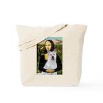 MonaLisa-AKita2 Tote Bag