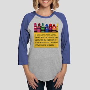Peaceful Crayons Long Sleeve T-Shirt