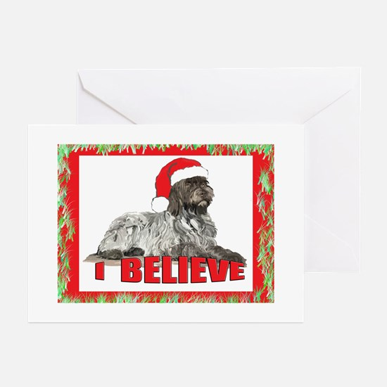 Wirehaired Pointing Griffon S Greeting Cards