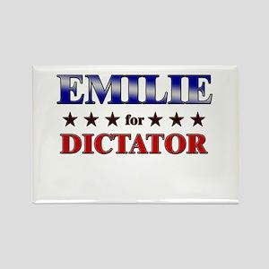 EMILIE for dictator Rectangle Magnet