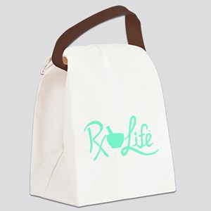 Aqua Rx Life Canvas Lunch Bag