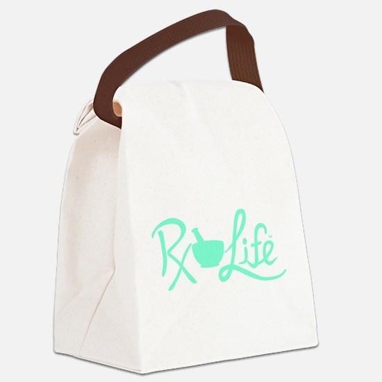 Aqua Rx Life Canvas Lunch Bag