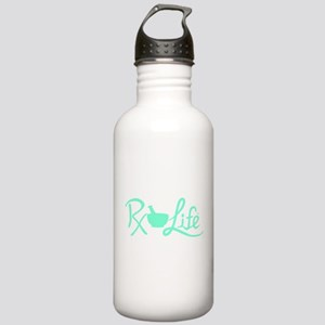 Aqua Rx Life Stainless Water Bottle 1.0L