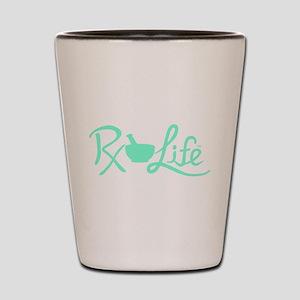 Aqua Rx Life Shot Glass