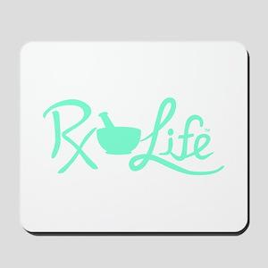 Aqua Rx Life Mousepad
