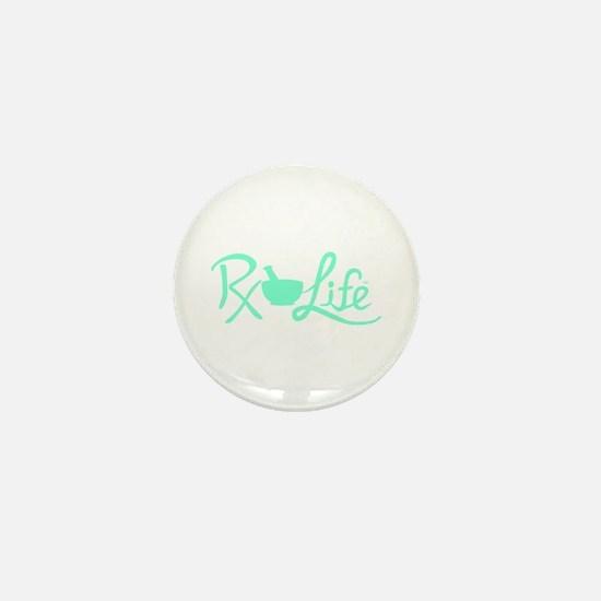 Aqua Rx Life Mini Button
