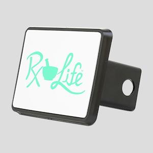 Aqua Rx Life Rectangular Hitch Cover
