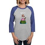 Ferret Drama Womens Baseball Long Sleeve T-Shirt