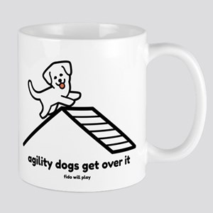 Agility Dogs Get Over I Stainless Steel Trave Mugs