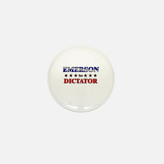 EMERSON for dictator Mini Button