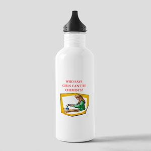 Girl scientist Water Bottle