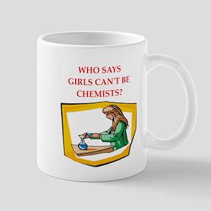 Girl scientist Mugs