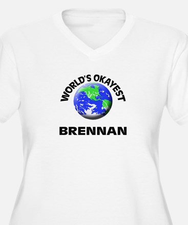 World's Okayest Brennan Plus Size T-Shirt