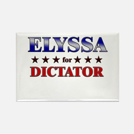 ELYSSA for dictator Rectangle Magnet