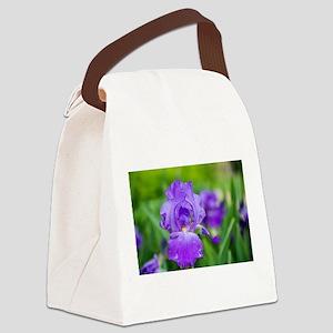 Bearded Beauty Canvas Lunch Bag
