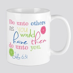 luke 6:31 do unto others mug shirt decor Mugs
