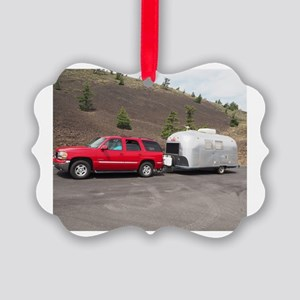 1967 Globetrotter Airstream Picture Ornament