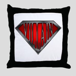 Super Villain Throw Pillow