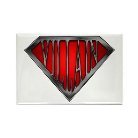 Super Villain Rectangle Magnet