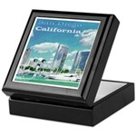 San Diego California Keepsake Box