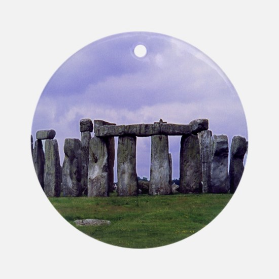 Stonehenge - Gift Ornament (Round)