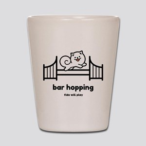 Agility Bar Hopping Shot Glass
