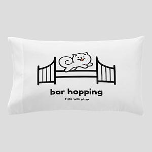 Agility Bar Hopping Pillow Case