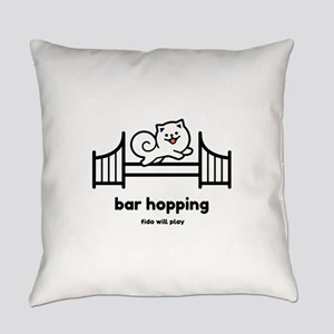 Agility Bar Hopping Everyday Pillow